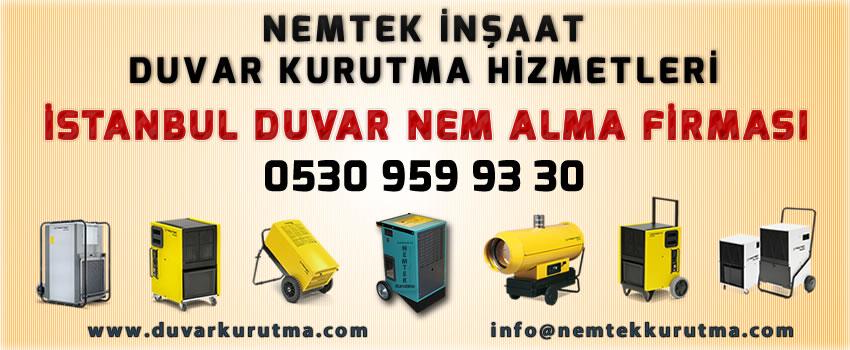 İstanbul Duvar Nem Alma Firması